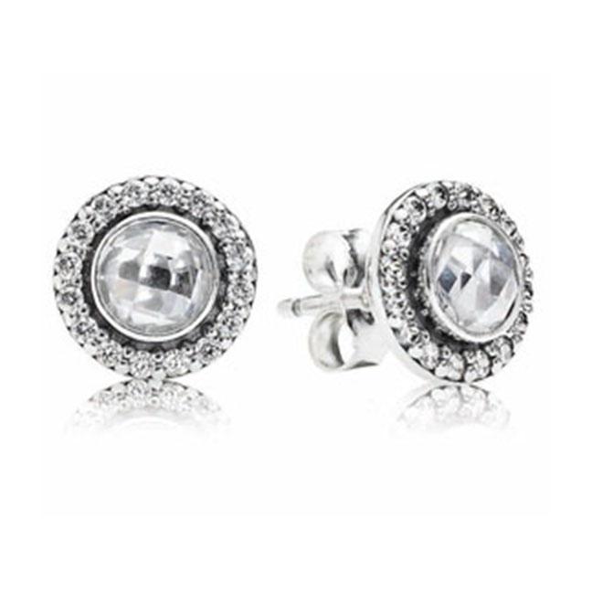 Pandora Moonstone Earrings: Miami Lakes Jewelers